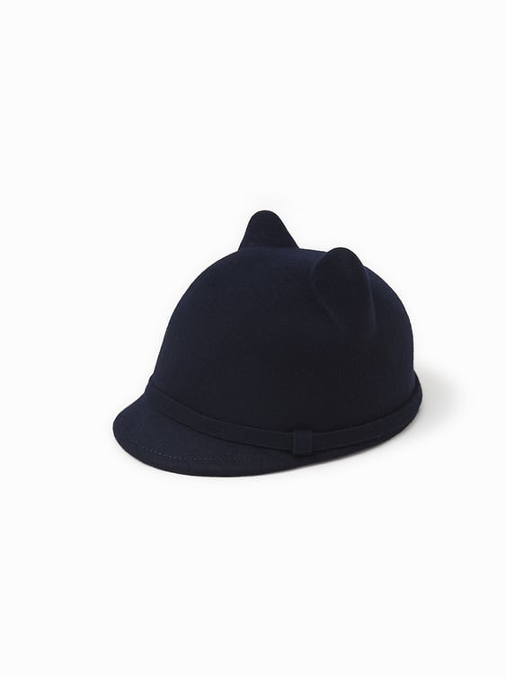 Cap With Ears  View All Girl Accessories Kids by Zara