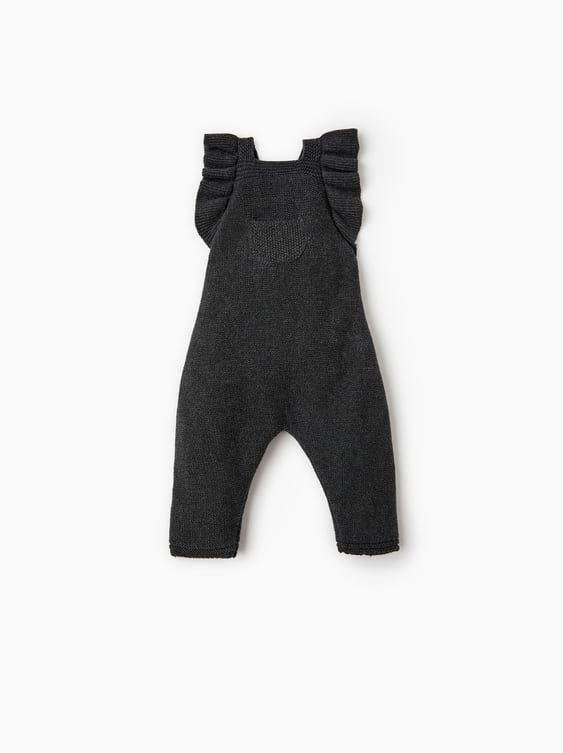 Ruffled Jumpsuit  Trousers And Dungareesmini by Zara