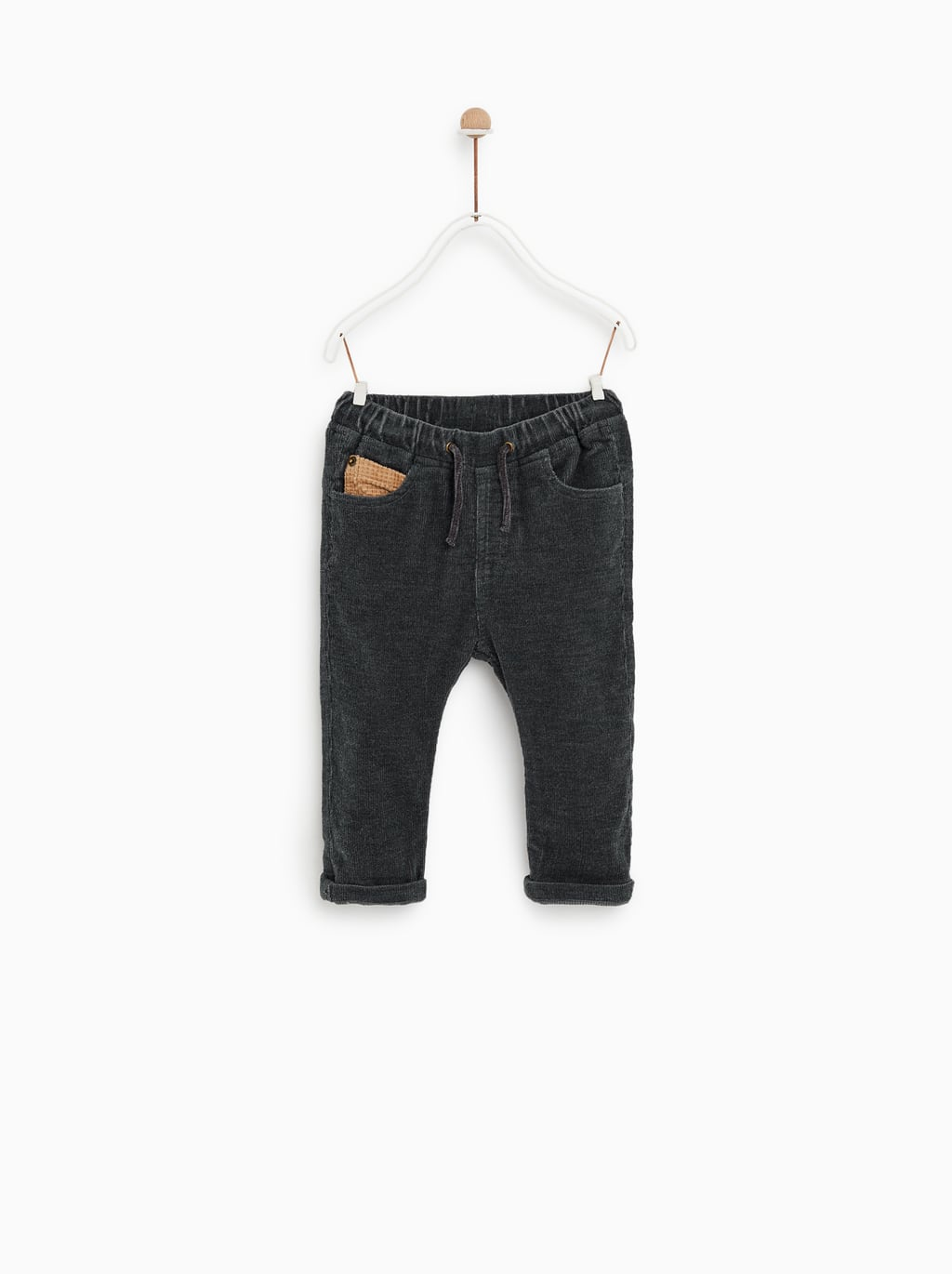 Corduroy Pants With Pocket  Pants And Overallsbaby Boy by Zara