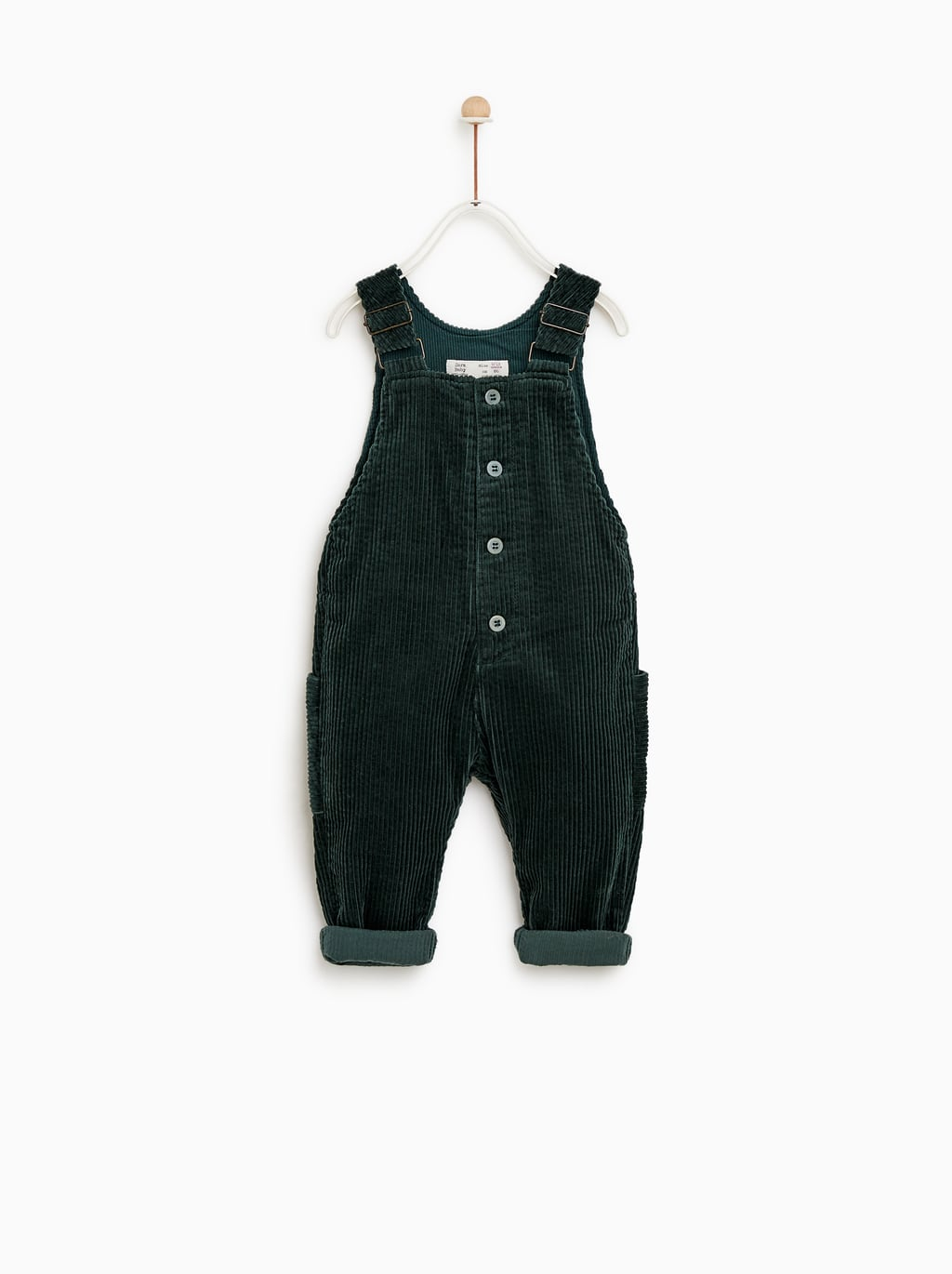 Corduroy Overall Shorts  Pants And Overallsbaby Boy by Zara