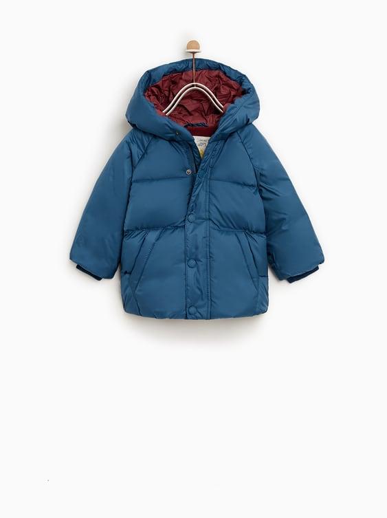 Puffer Jacket  Coats Basics Baby Boy by Zara