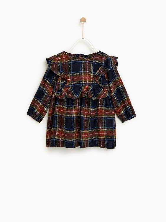Plaid Dress  New Inbaby Girl by Zara