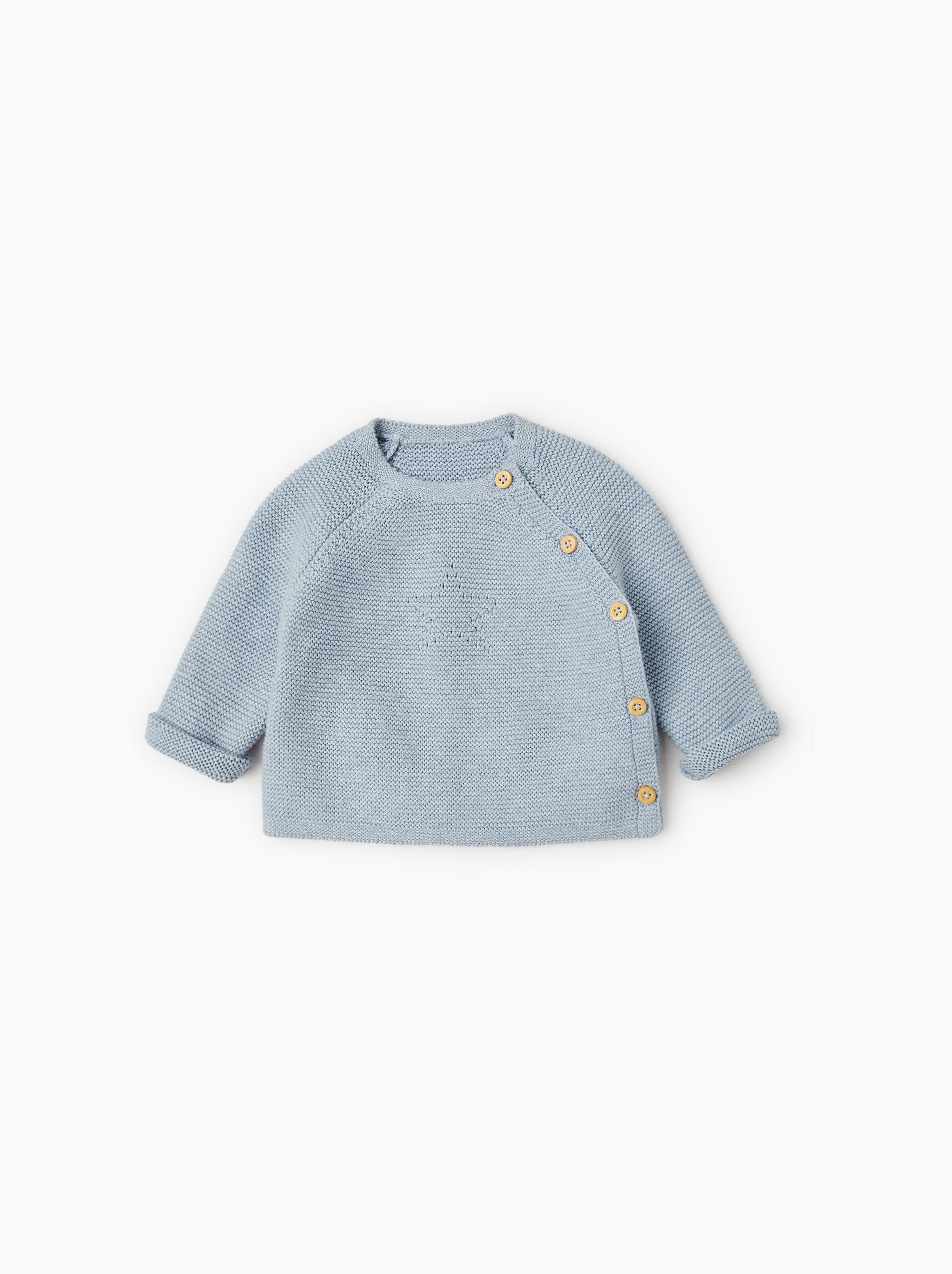 new product 5187c df715 Zara BASIC CABLE KNIT SWEATER