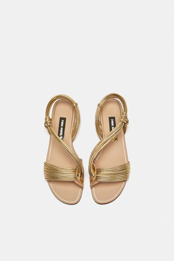 Multicolored Straps Sandals  View All Shoes Woman by Zara