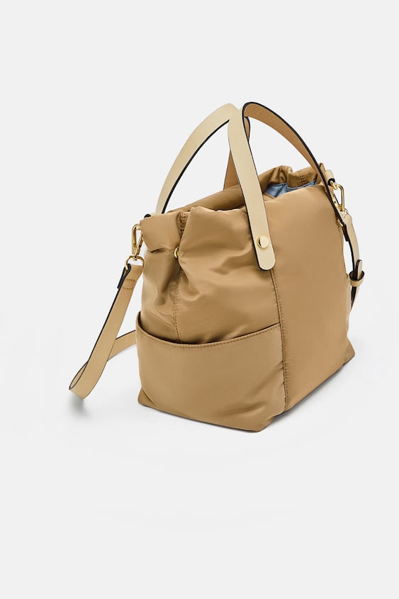 Technical Fabric Tote Bag  View All Bags Woman by Zara