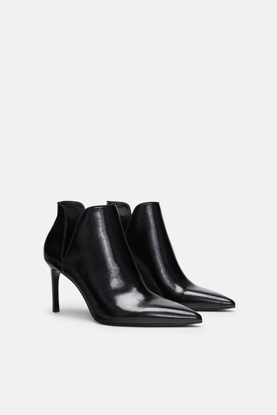 Cut  Out Ankle Boots View All Shoes Woman by Zara