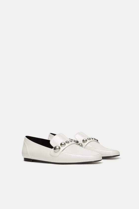 Loafers With Vamp Detail  View All Woman Shoes by Zara