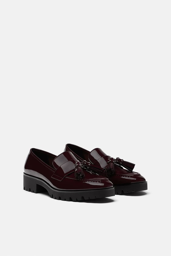 Tasselled Loafers  Womanshoes by Zara