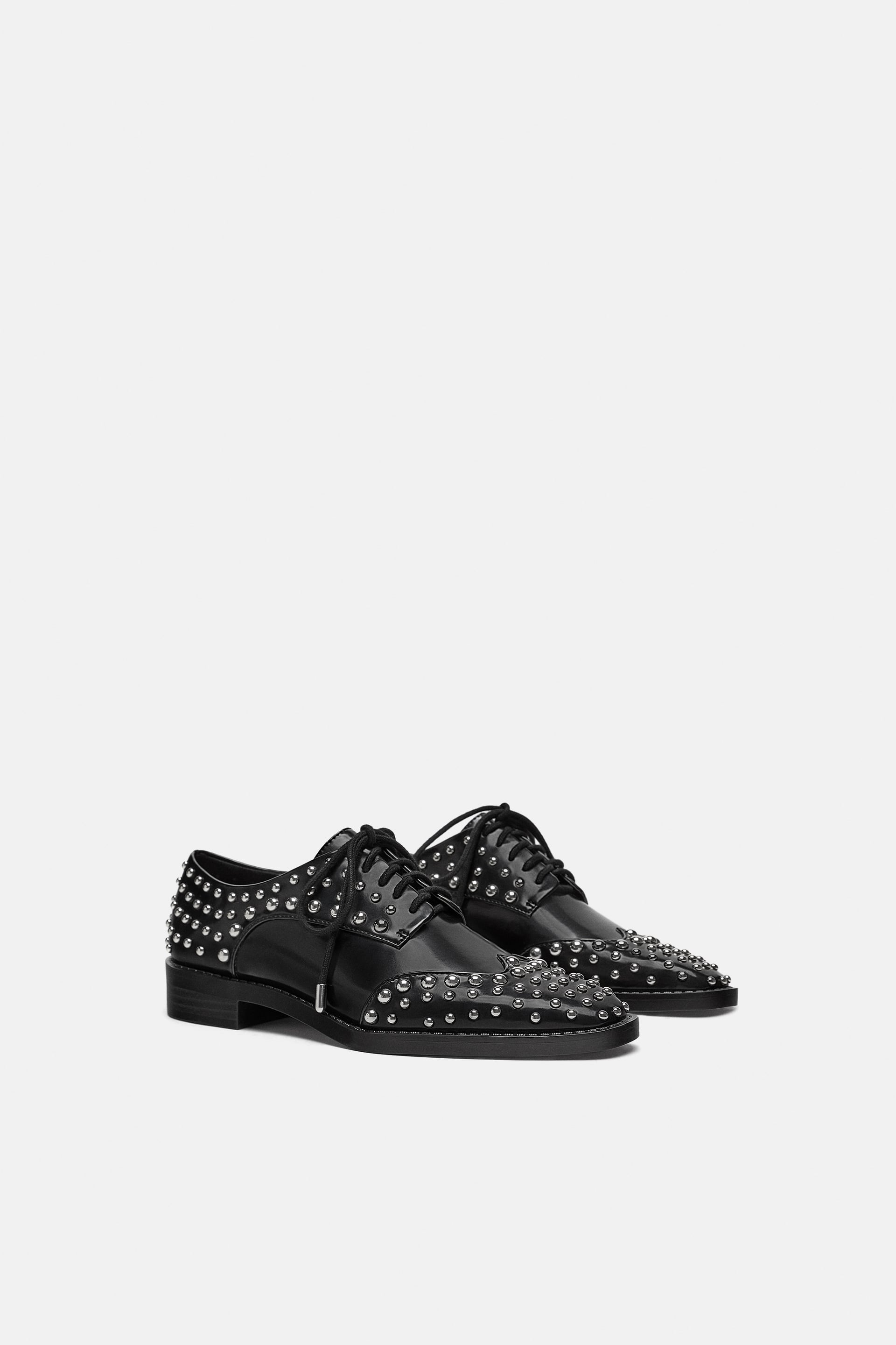 Studded Derby Shoes  View All Shoes Woman by Zara