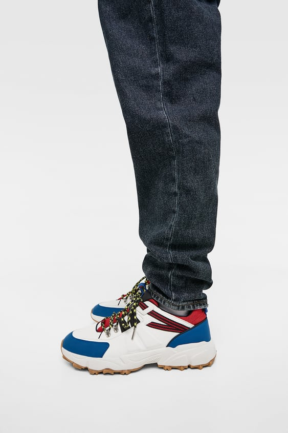 Multicolored Sneakers  View All Shoes Man by Zara