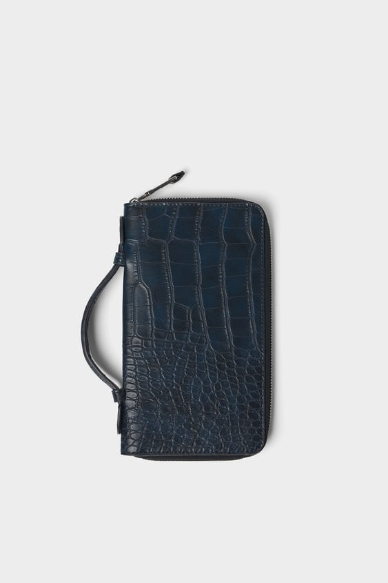 Xl Animal Embossed Wallet  Wallets And Accessories Bags Man by Zara