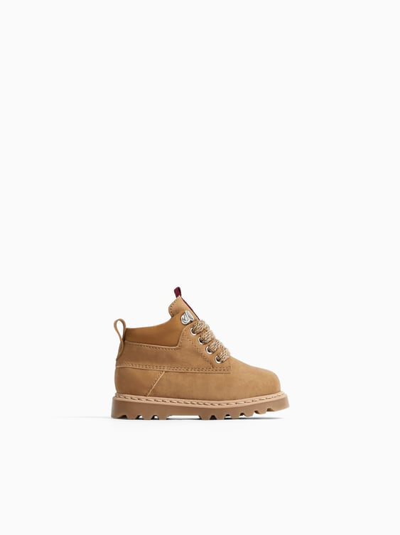 Laced Boots  View All Shoes Baby Boy by Zara