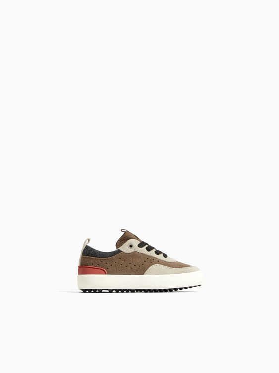 Combined Sneakers  View All Baby Boy Kids Shoes by Zara