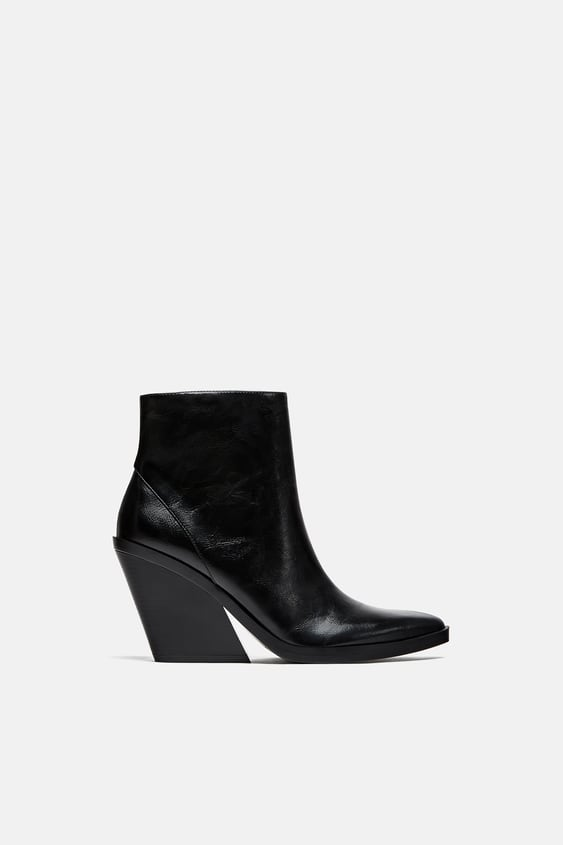 ankle-boots-with-thick-sole--shoestrf by zara
