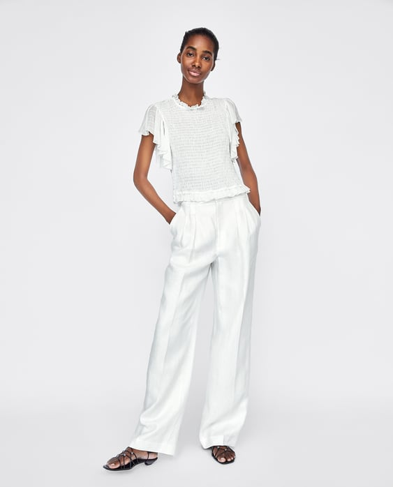 top-with-elastic-smocking--view-alltops-sale-woman by zara