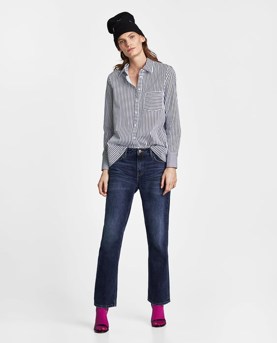 combined-multi--striped-shirtshirts-i-tops-sale-woman by zara