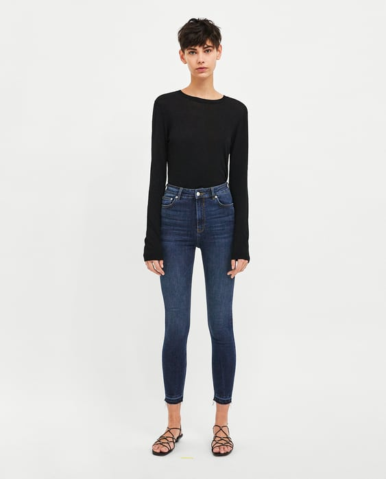 Jeans High Waist Midnight Blue  View All Jeans Woman by Zara