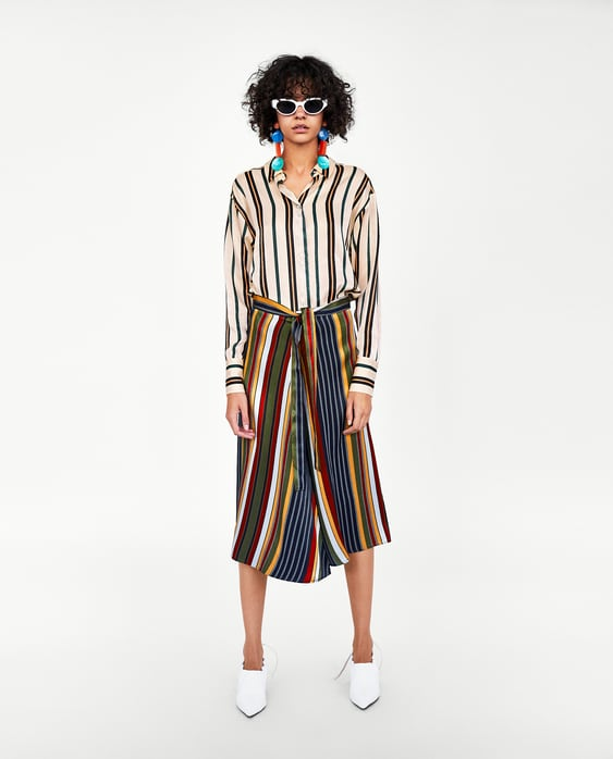Striped Shirt  Collection Spring Games Trf by Zara