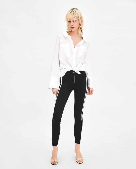 LEGGINGS WITH DOUBLE SIDE STRIPE