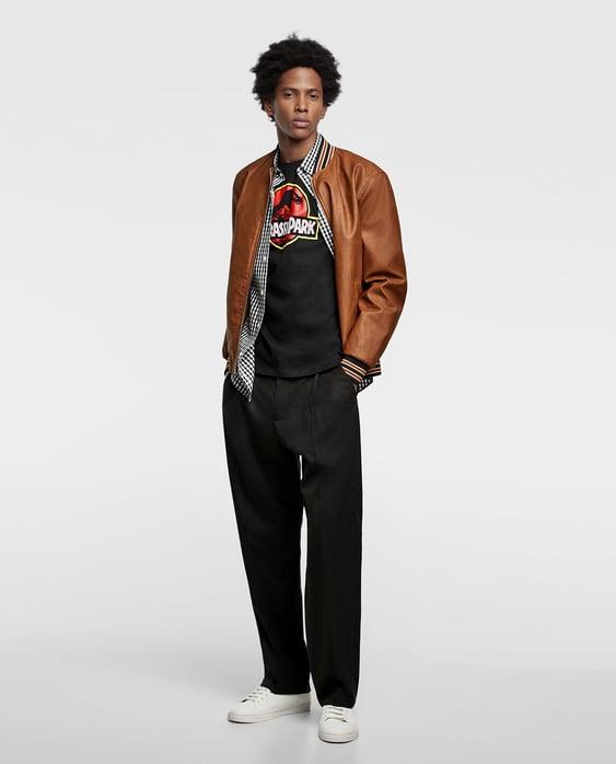 """T  Shirt """"Jurassic Park""""®Ver Tudo T Shirts Homem by Zara"""