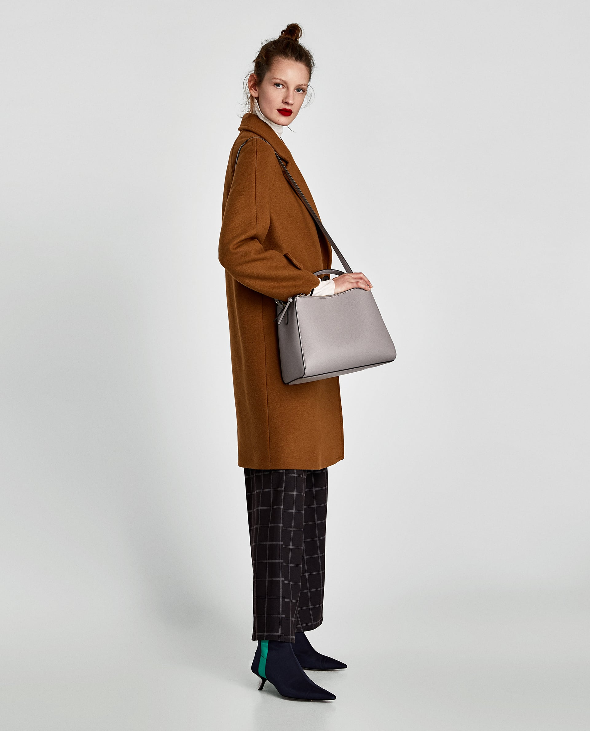 360ed344355 Zara MEDIUM TOTE BAG WITH ZIP at £19.99 | love the brands