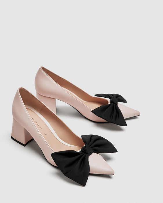 Medium Heel Pumps With Bow  Special Prices Shoes Woman by Zara