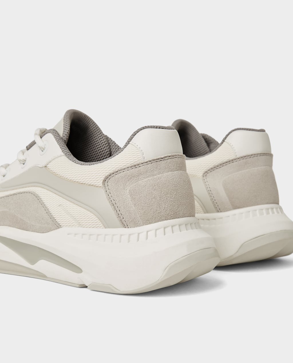 Thick Soled Tennis Shoes