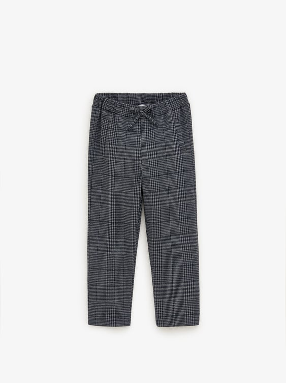 TWIN SET HOUNDSTOOTH TROUSERS