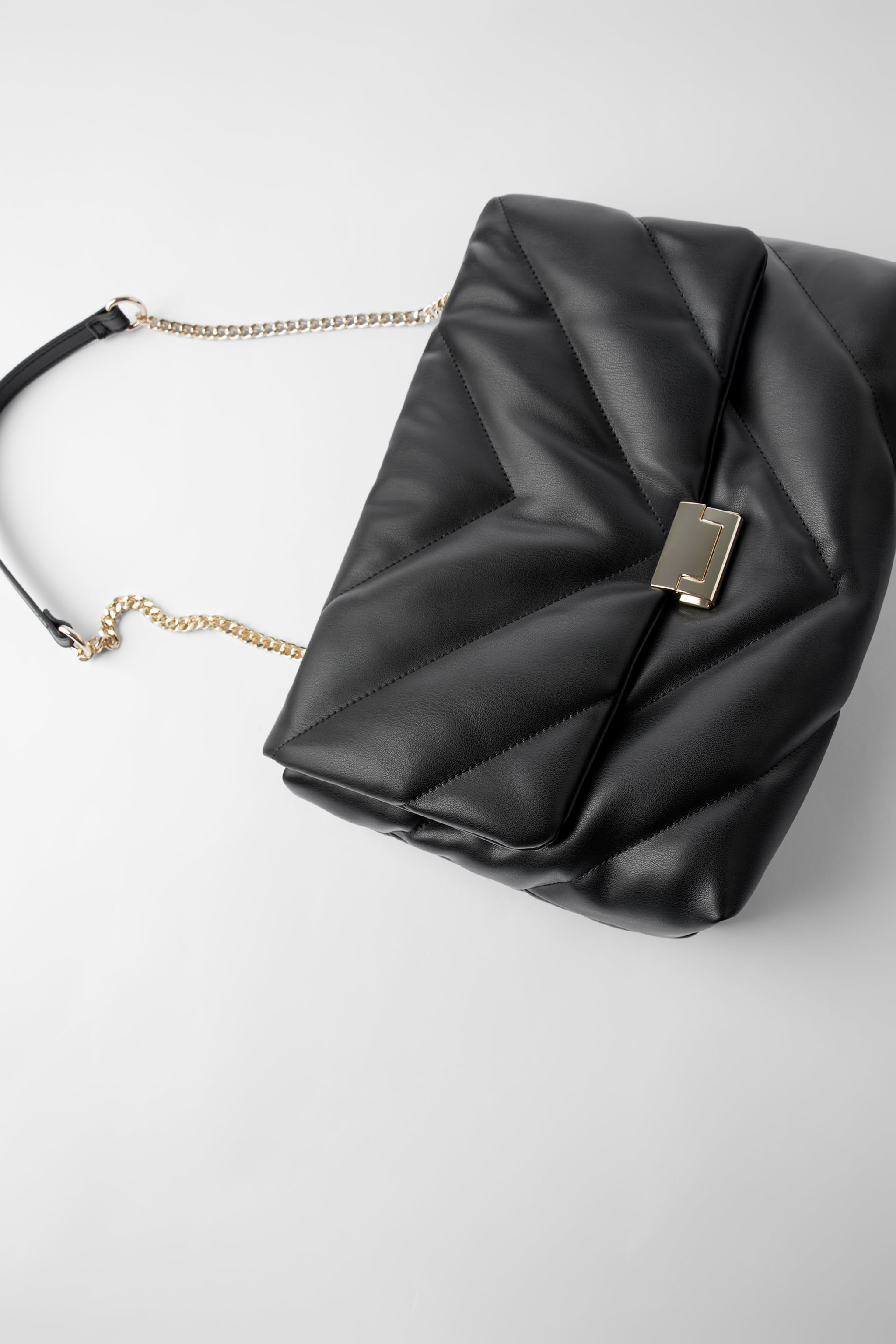QUILTED MAXI CROSSBODY BAG