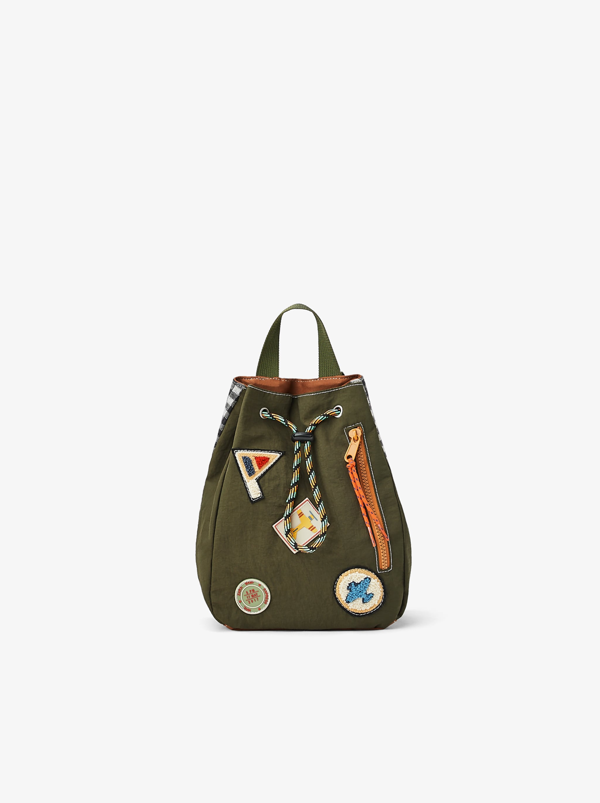 Zara BACKPACK WITH PATCHES