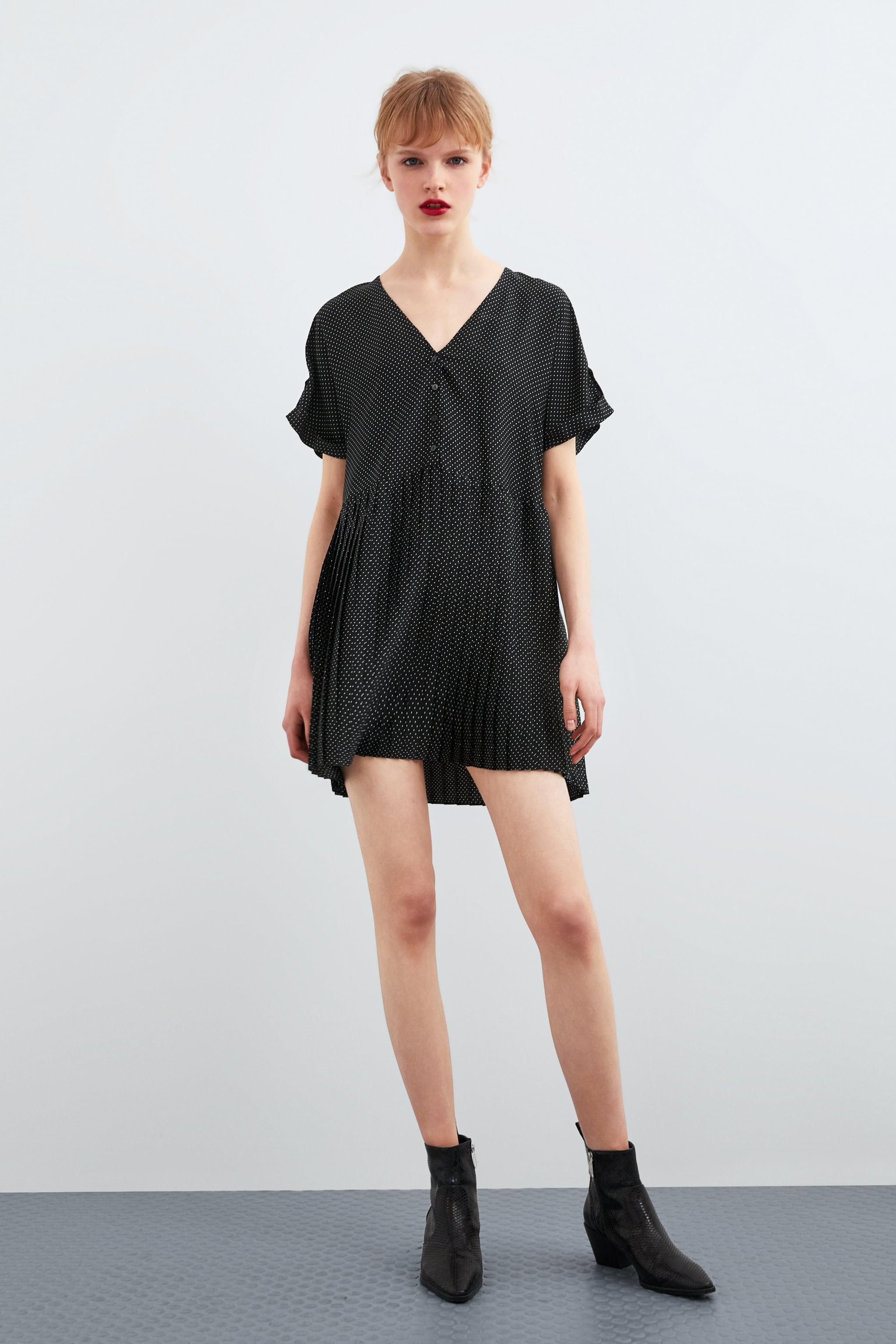 3be6722dd5e93f Zara POLKA DOT DRESS