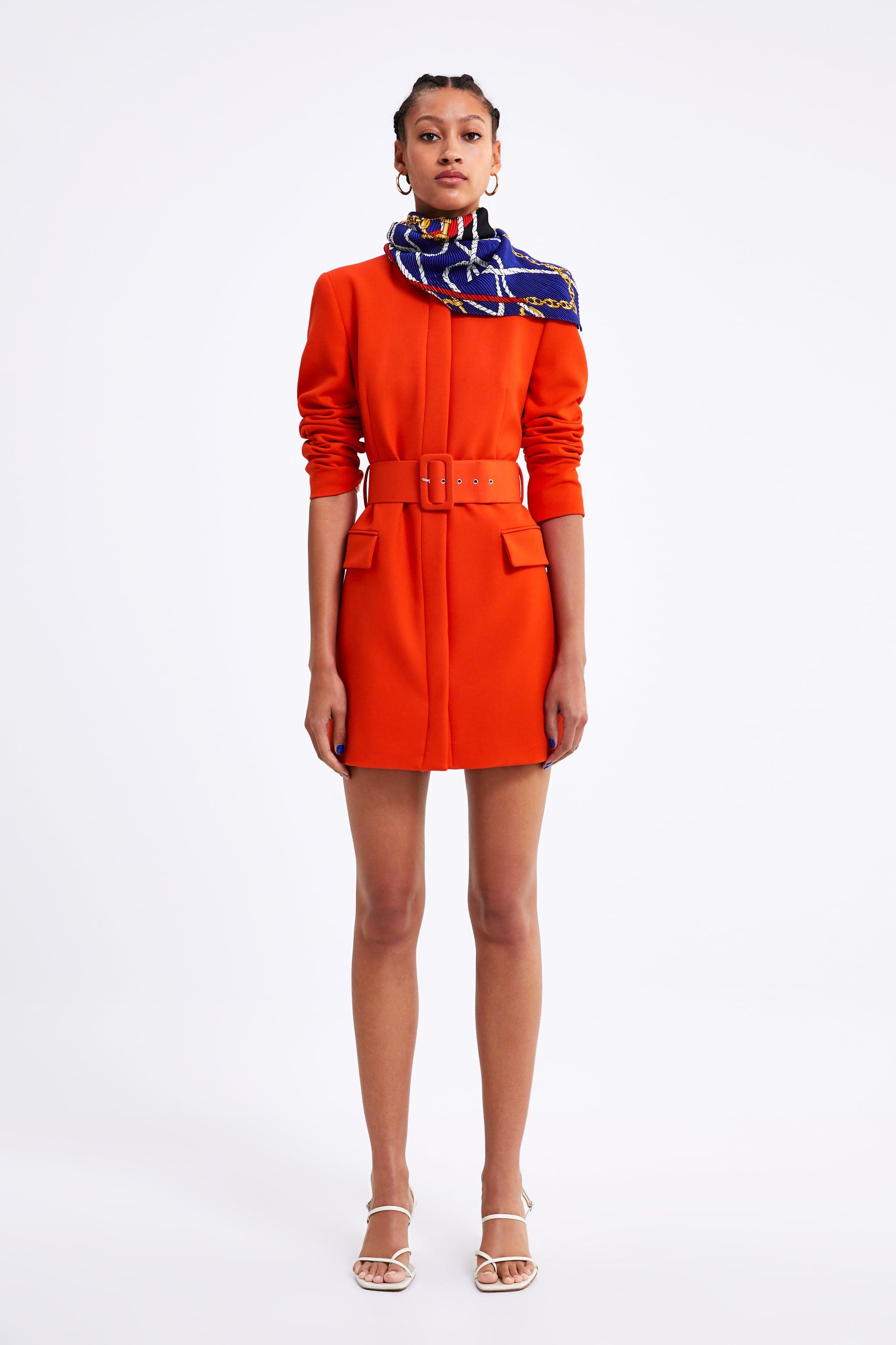 Zara BELTED FROCK COAT