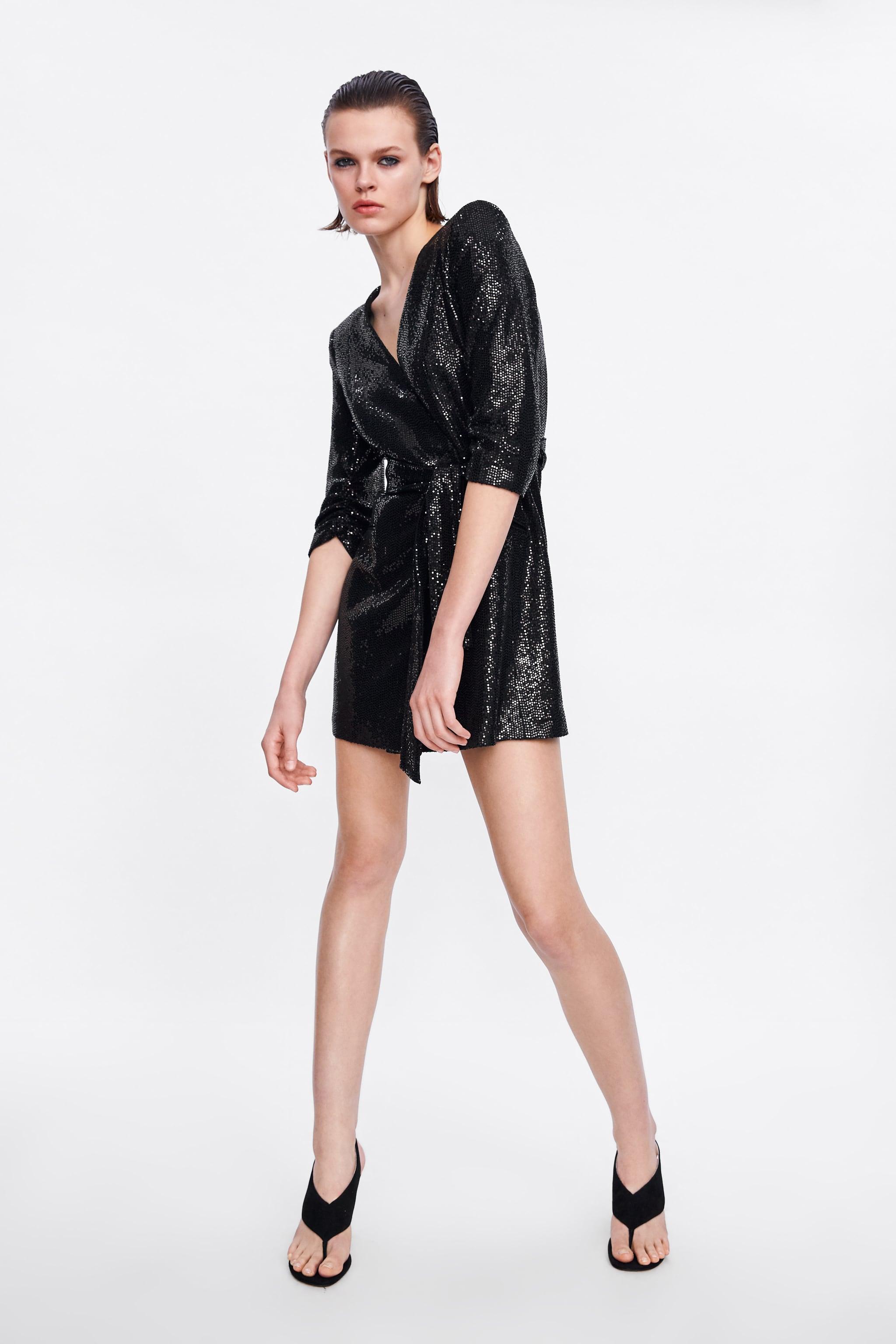 Zara SHINY BLAZER DRESS