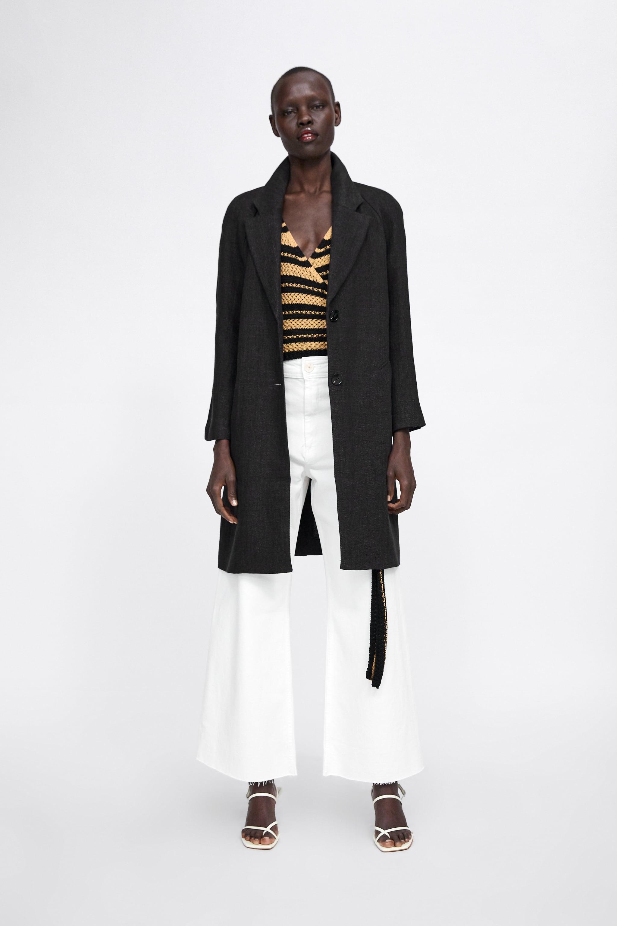 Zara COAT WITH POCKETS