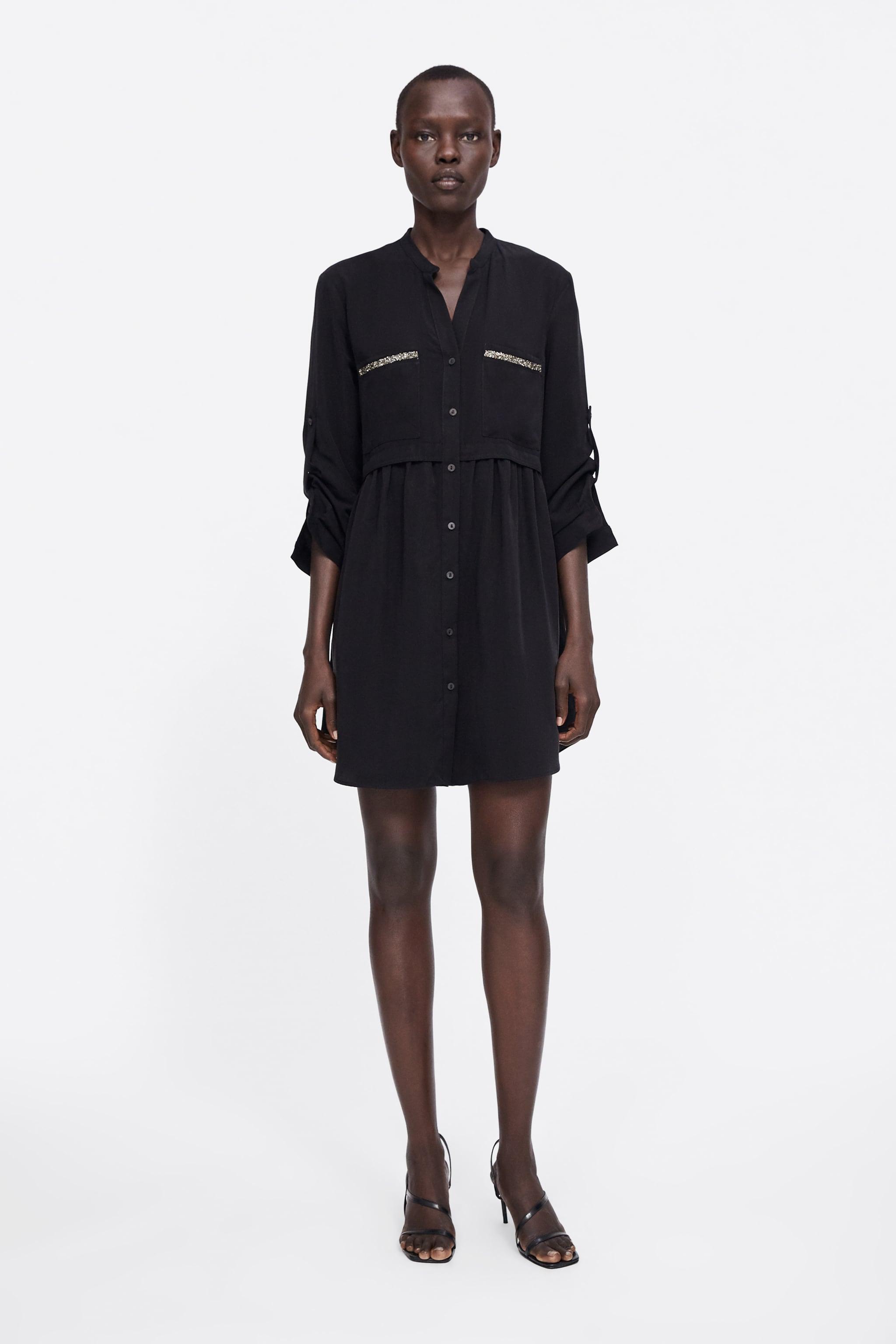 8de687f88c4 Zara DRESS WITH POCKETS