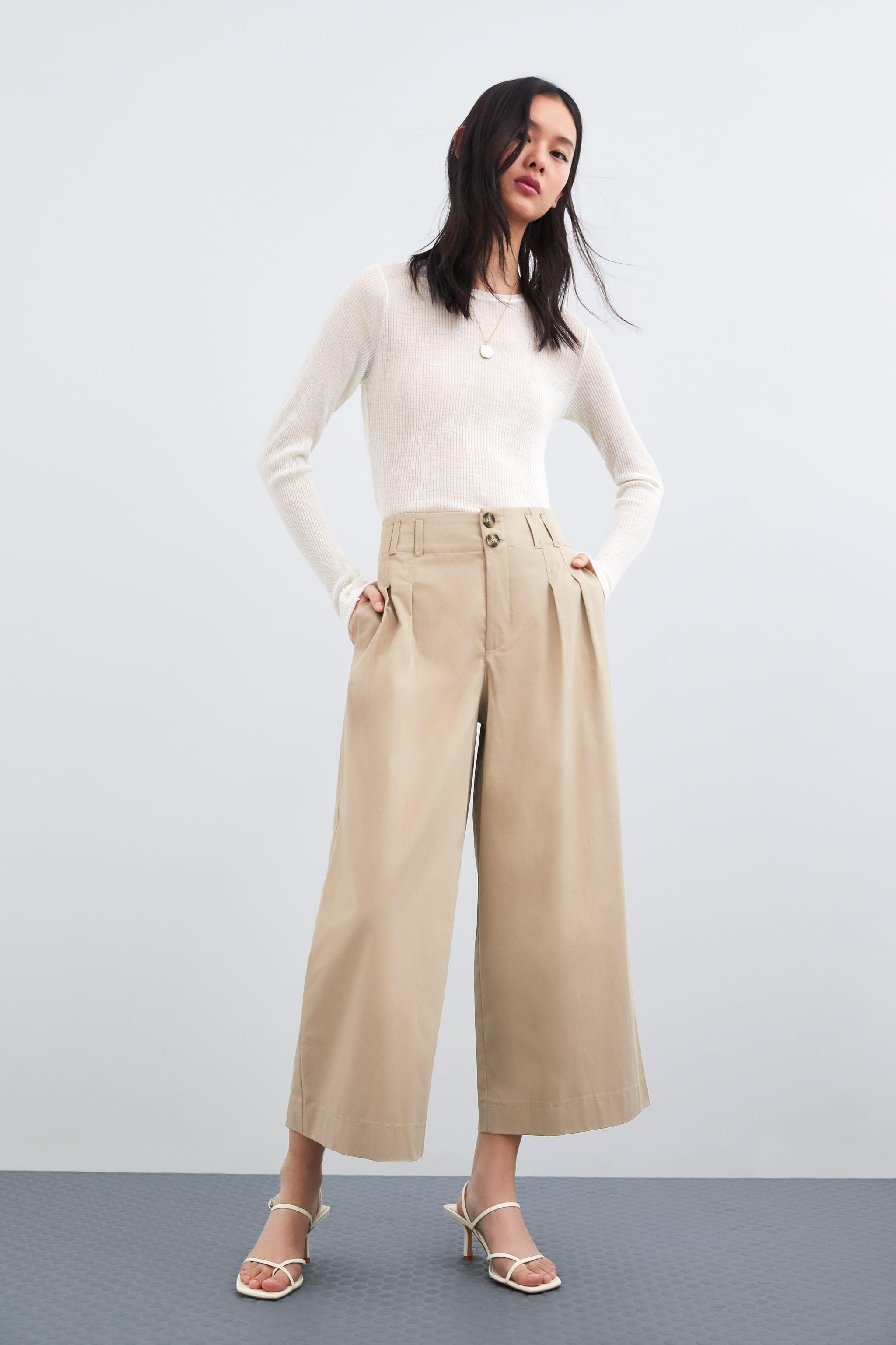 4773f45c72 Zara CROPPED PANTS