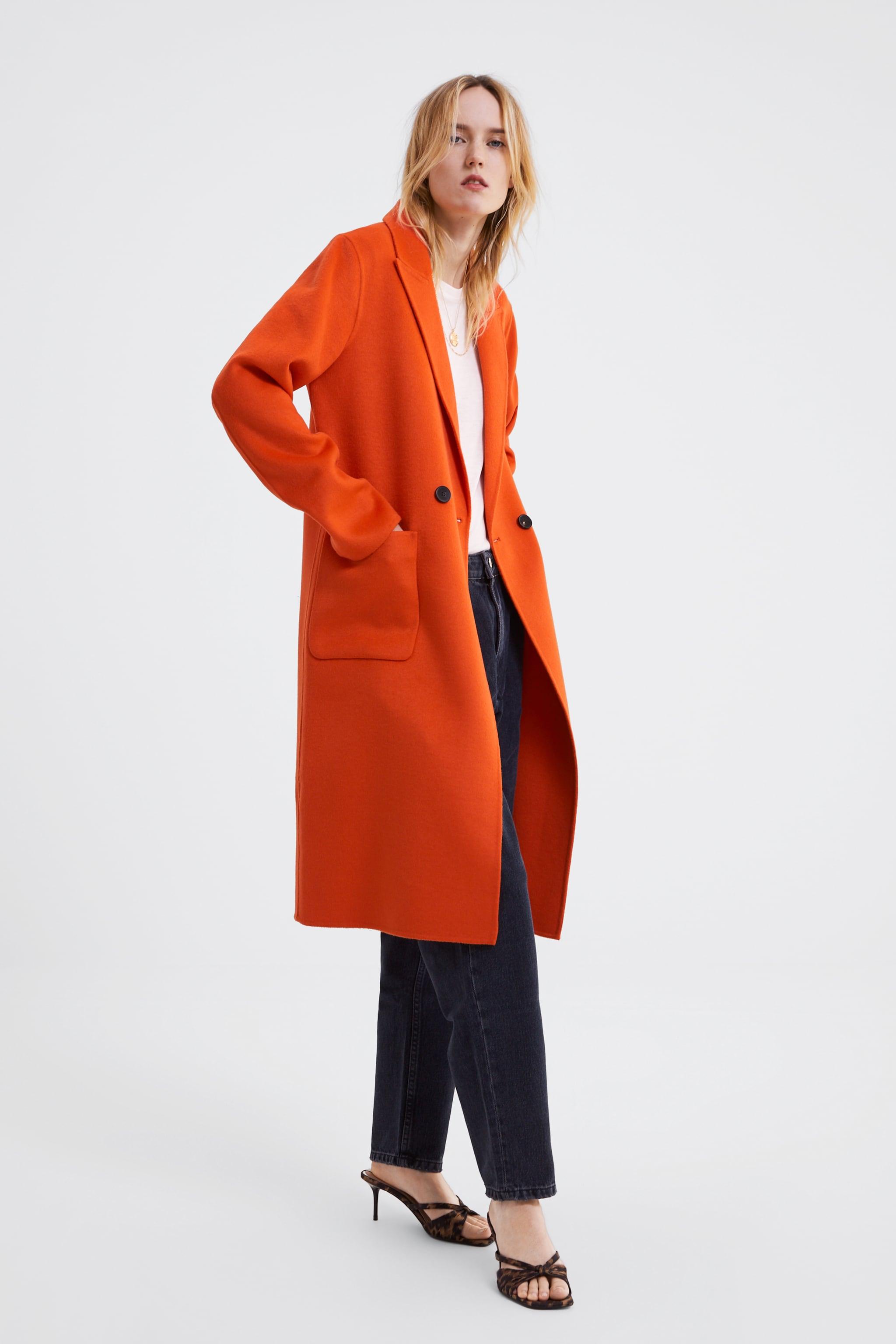 Zara FLUORESCENT MENSWEAR COAT