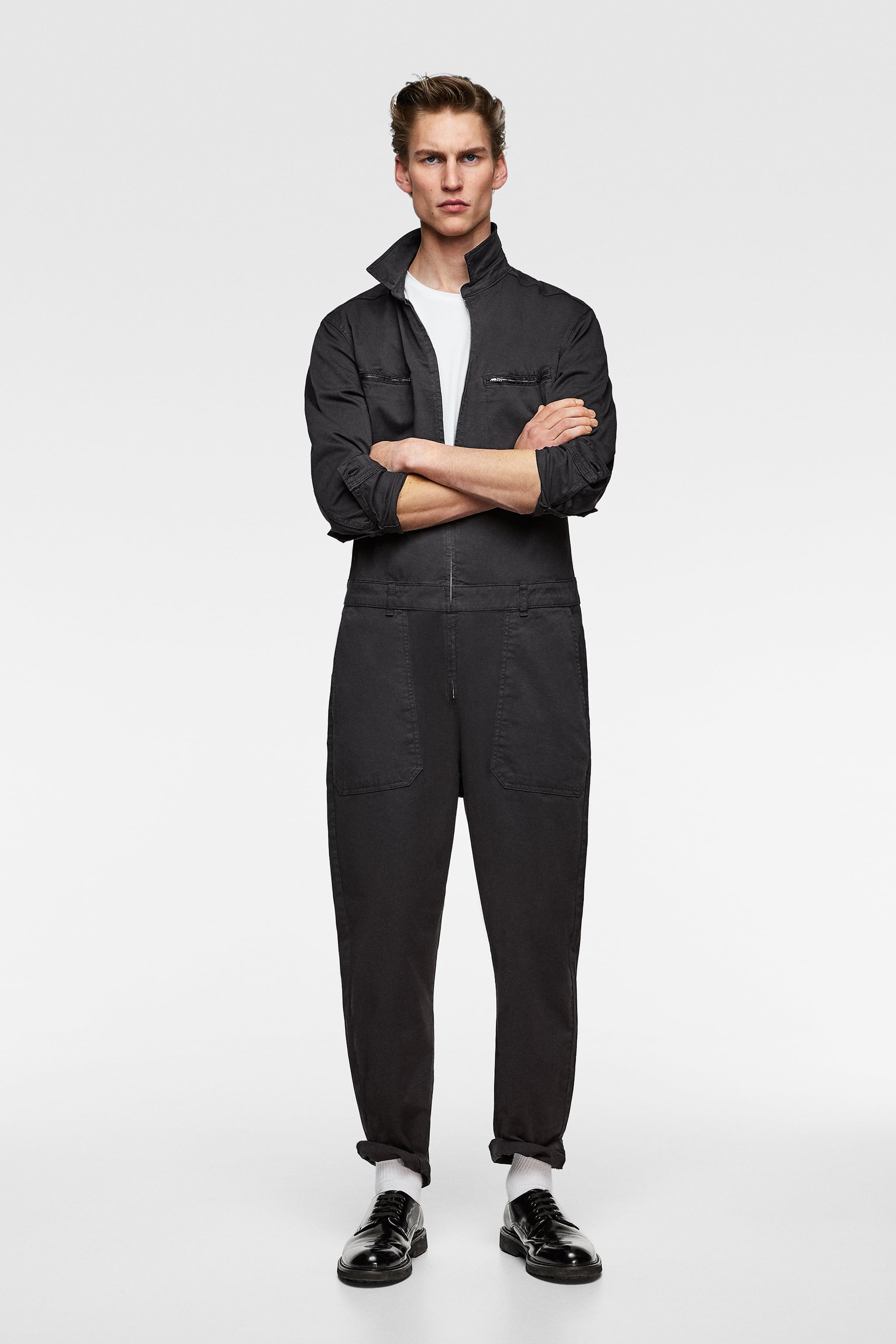 82fbfb7c15fc Zara JUMPSUIT WITH POCKETS