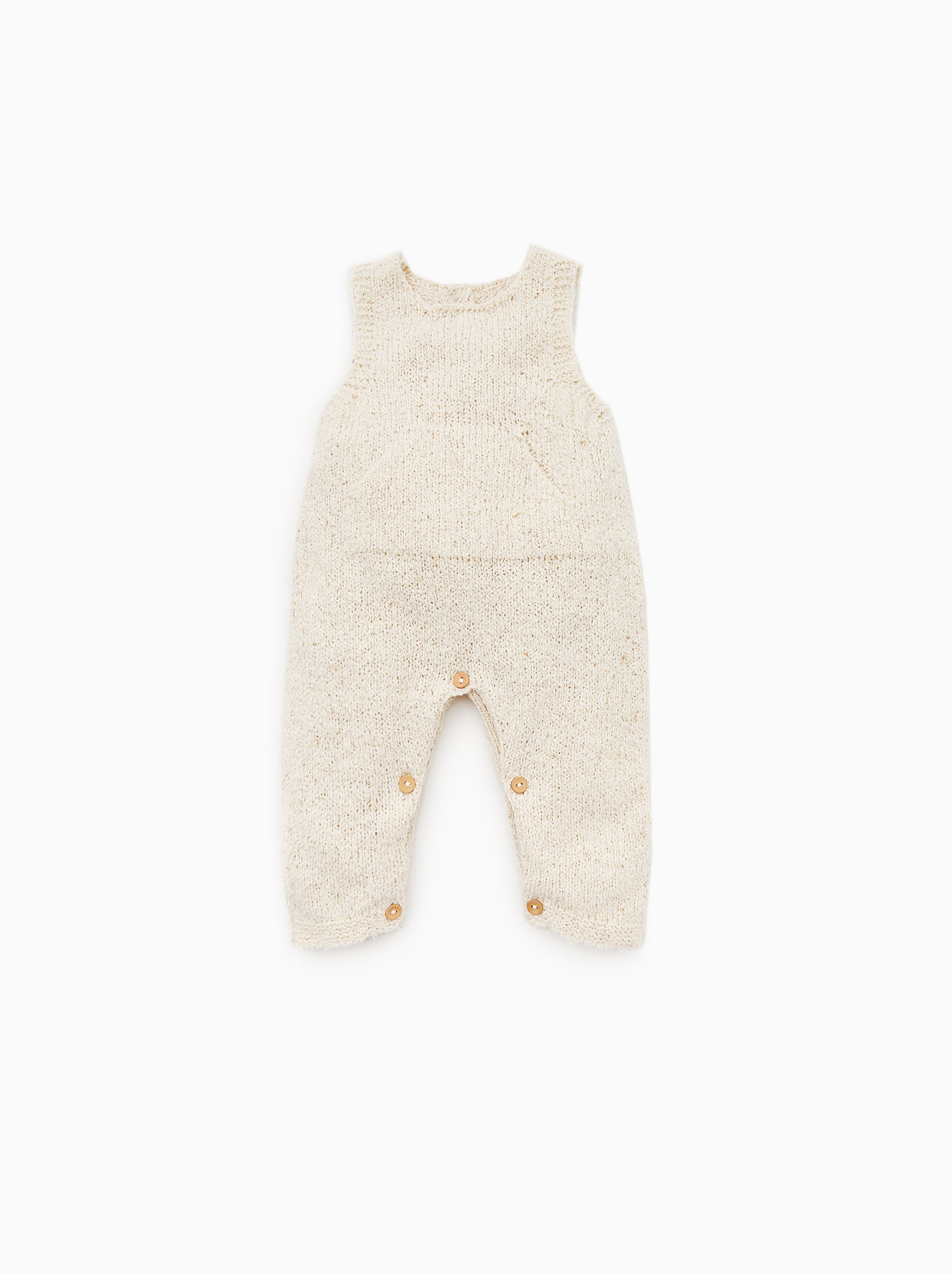 Zara RUSTIC JUMPSUIT WITH POCKET