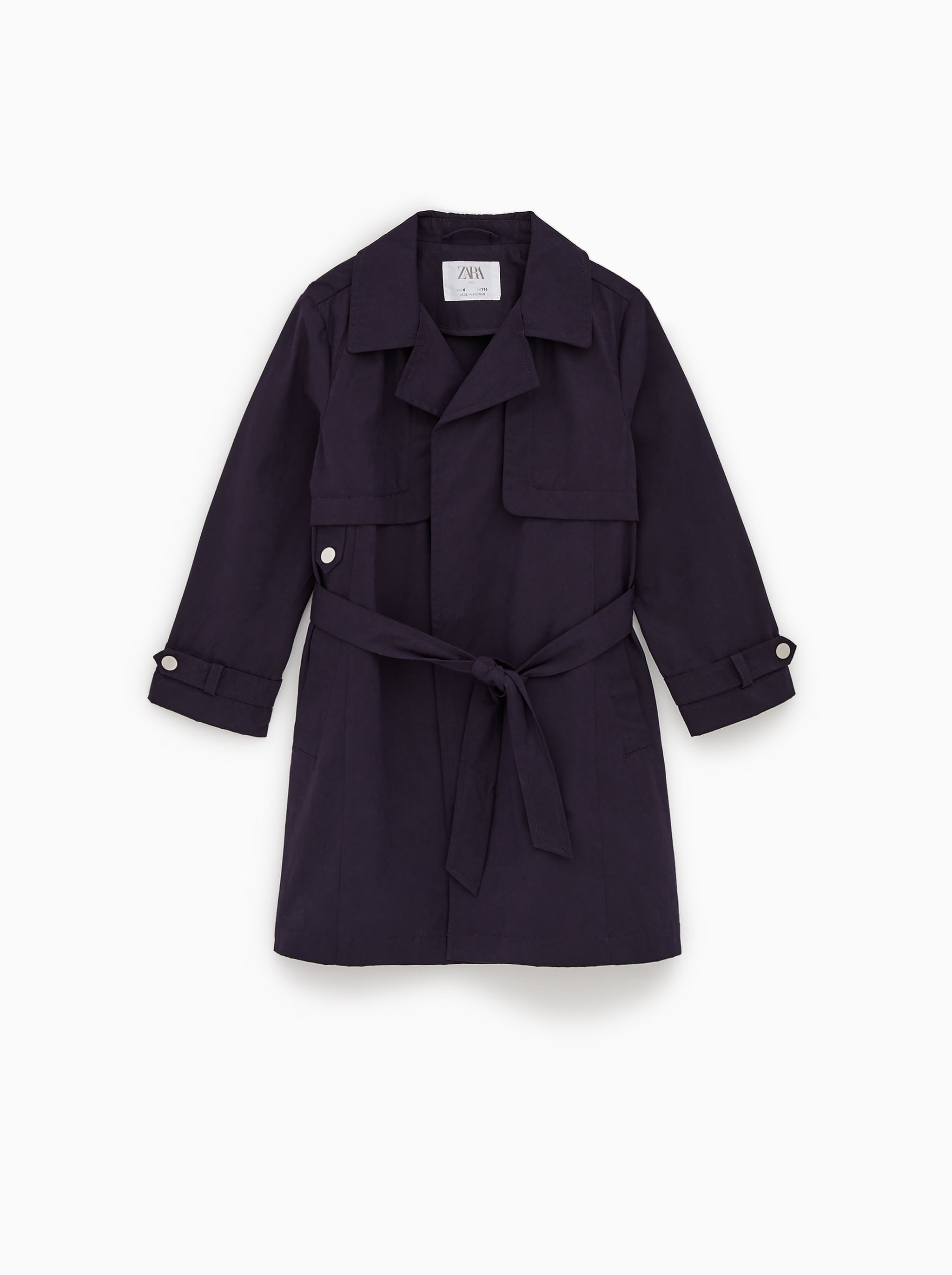 FLOWY TRENCH COAT WITH BELT