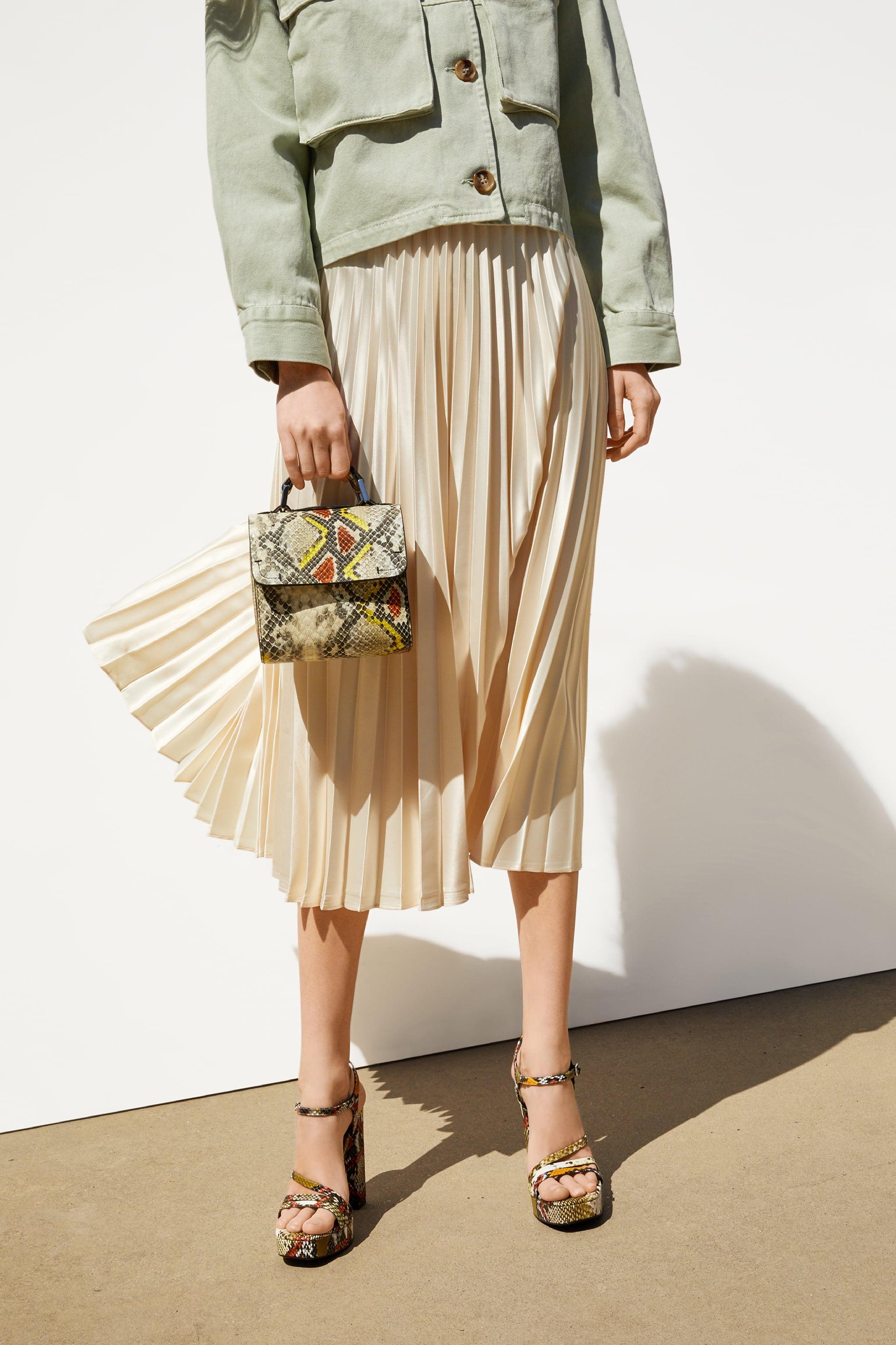 25e36cecb4 Zara ANIMAL PRINT BOX BAG
