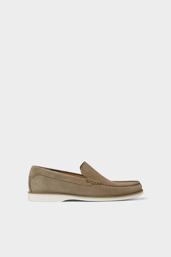 Zara GRAY ATHLETIC LOAFERS