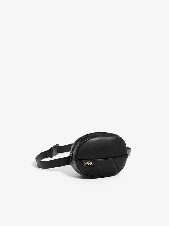 Zara QUILTED BELT BAG