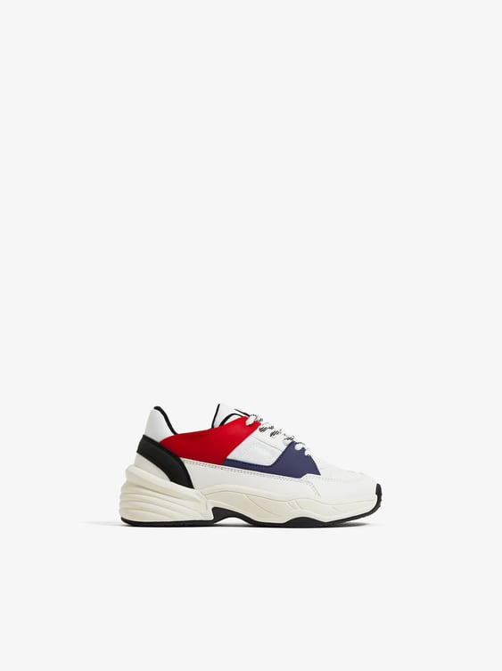 SNEAKERS WITH COLORFUL TRIM