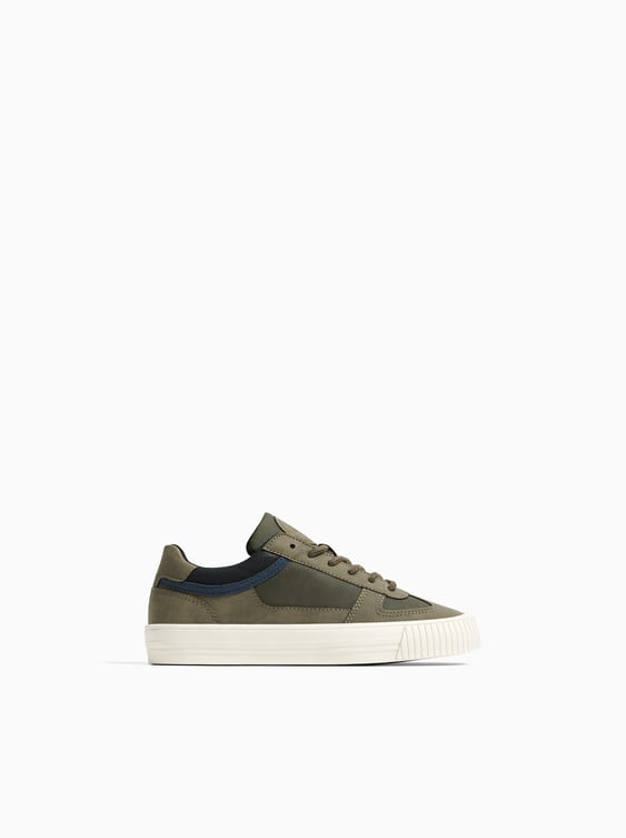 SNEAKERS WITH ANKLE DETAIL