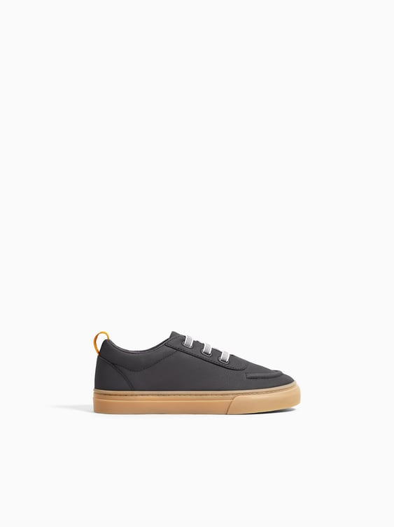 Zara SNEAKERS WITH SOLE DETAIL