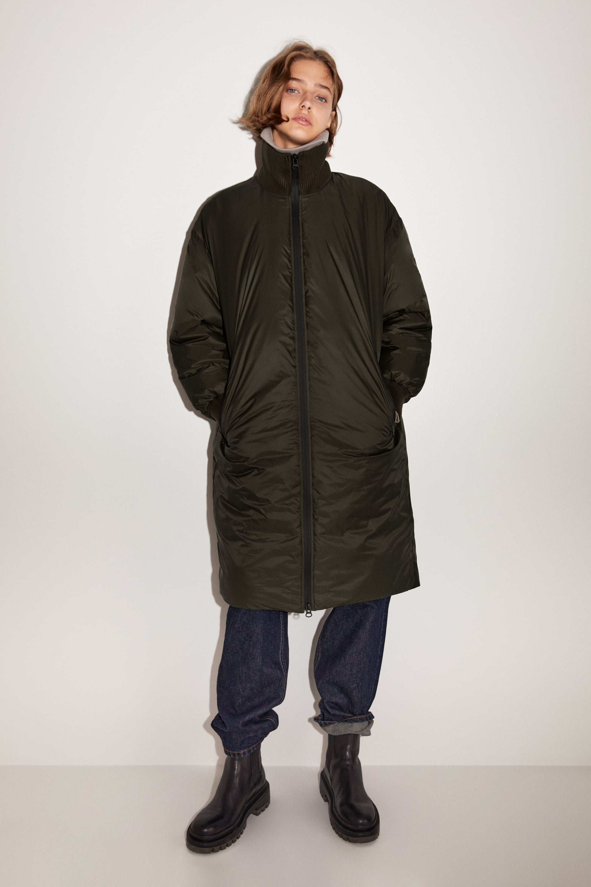 Zara LIMITED EDITION WATER AND WIND PROTECTION PUFFER COAT
