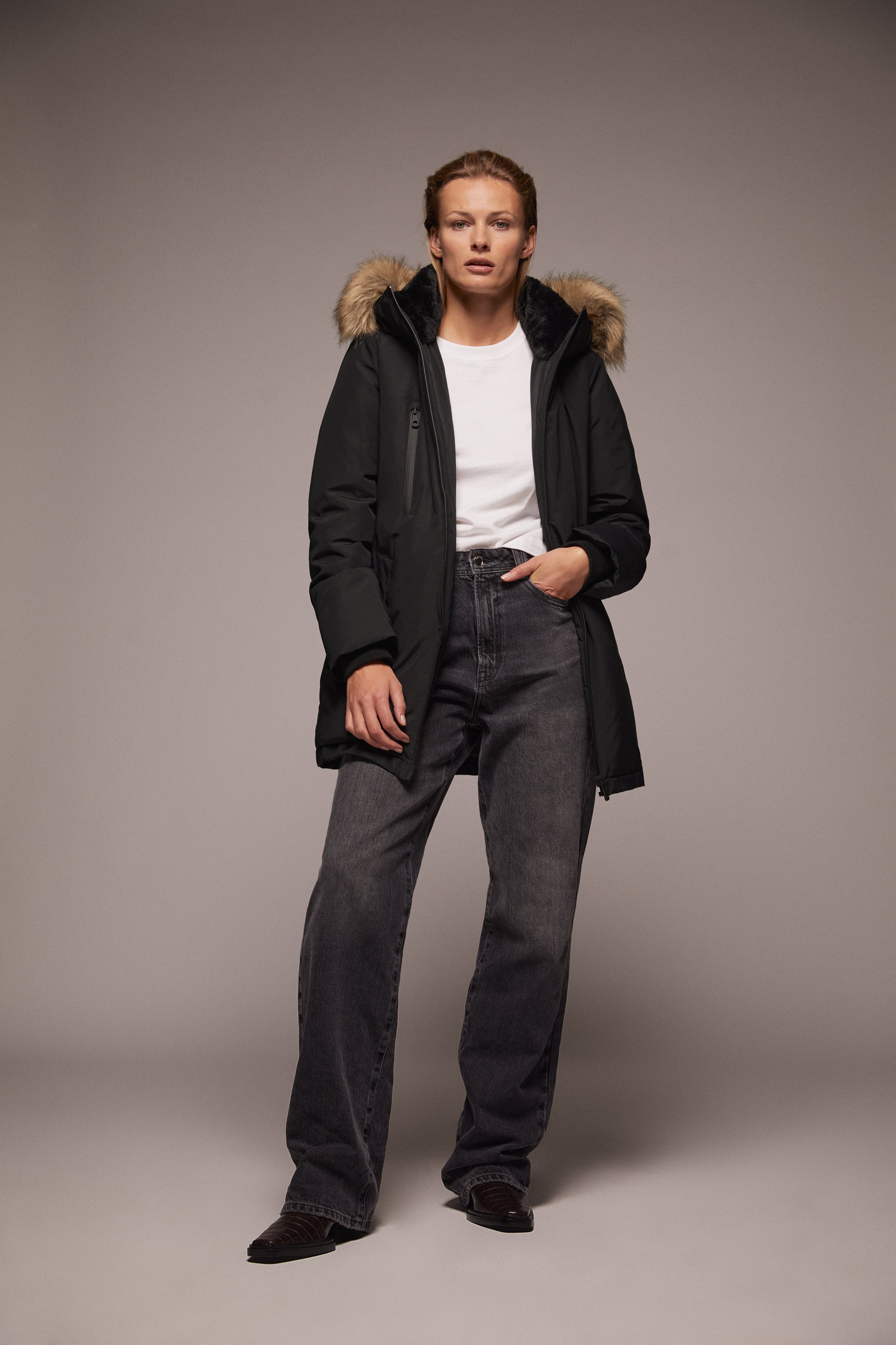 Zara WATER AND WIND PROTECTION COAT
