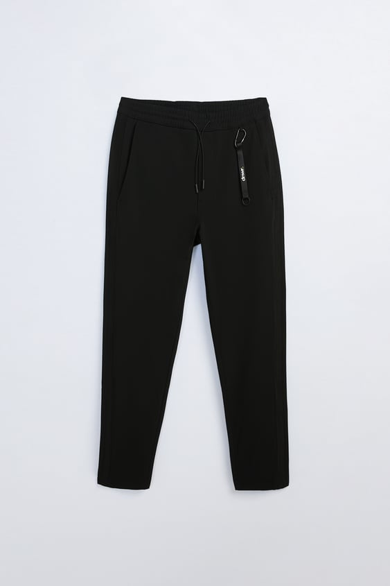 TECHNICAL PANTS WITH BANDS