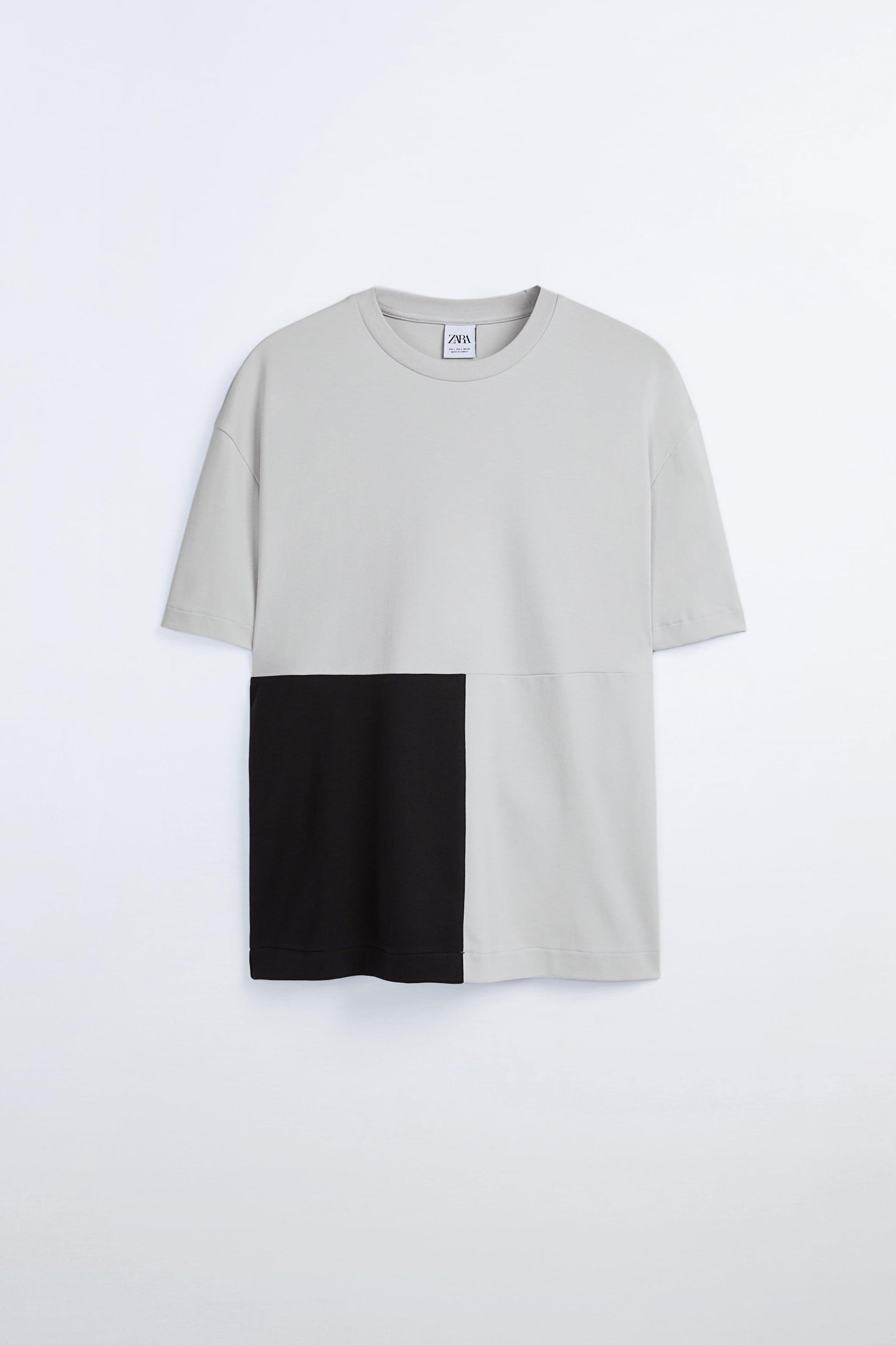 Zara PREMIUM COMBINATION T-SHIRT